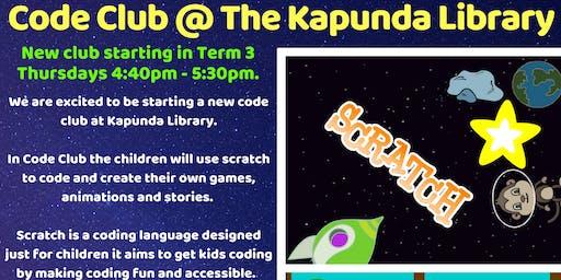 NEW Term 3 Code Club @ Kapunda Library