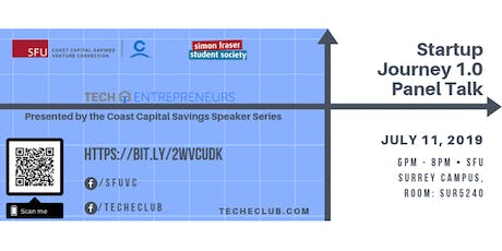 Startup Journey 1.0 - Presented by the Coast Capital Savings Speaker Series tickets