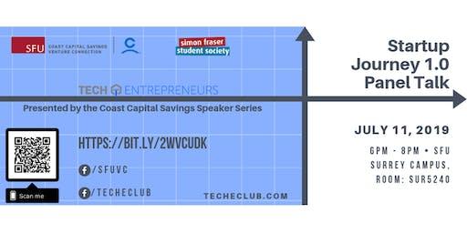 Startup Journey 1.0 - Presented by the Coast Capital Savings Speaker Series