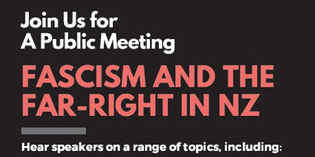 Public Meeting On Fascism and The Far Right tickets
