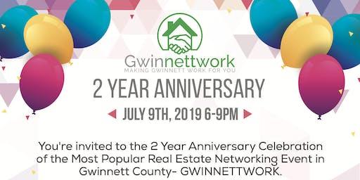 GWINNETTWORK 2 YEAR ANNIVERSARY CELEBRATION
