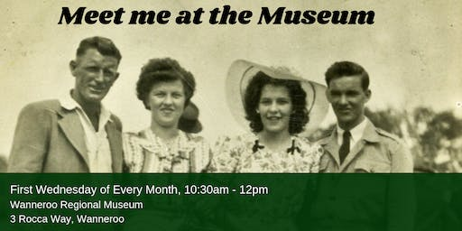 Meet me at the Museum in August