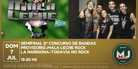 Semifinal del 2do Concurso de Bandas 2019  tickets