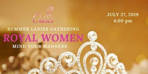 Oasis Ladies Gathering Royal Women