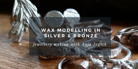 Wax Modelling: Jewellery making in silver and bronze tickets