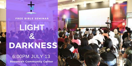 Free Bible Seminar: Light and Darkness tickets