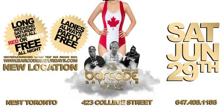 Nest Saturdays Canada Day PARTY tickets