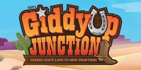 Giddyup Junction Vacation Bible School tickets