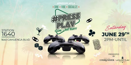 Press PLAY: Game Day & Day Party  tickets