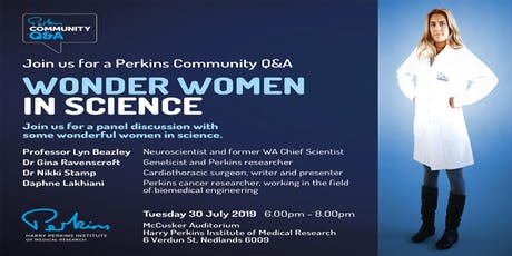 Perkins Community Q&A: Wonder Women in Science tickets