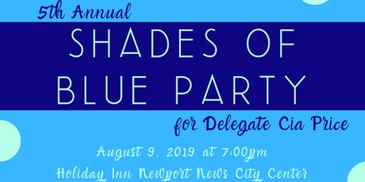 Shades of Blue: Del. Price's Birthday!