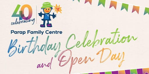 Parap Family Centre birthday celebration and open day!