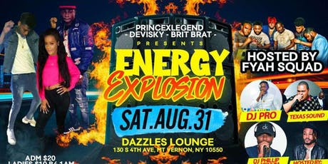 Energy explosion tickets