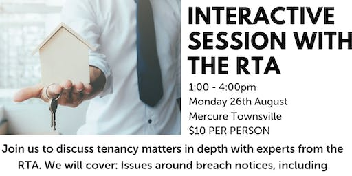 Interactive session with the RTA TOWNSVILLE