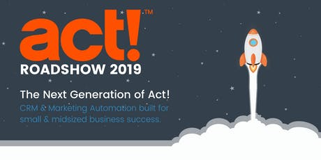 SCORESBY: 2019 Act! Roadshow tickets