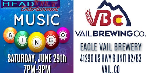 Music Bingo at Eagle Vail Brewery