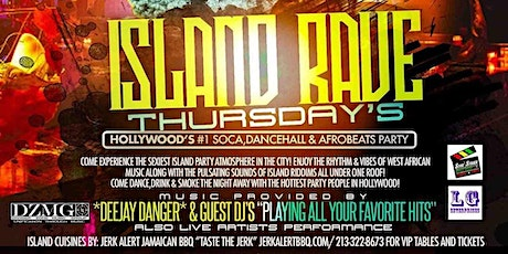 Island Rave Thursday's tickets