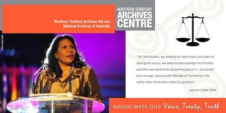 NAIDOC Week 2019:  Voice, Treaty, Truth  - talk by Leanne Liddle tickets
