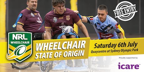 Wheelchair Rugby League State of Origin tickets