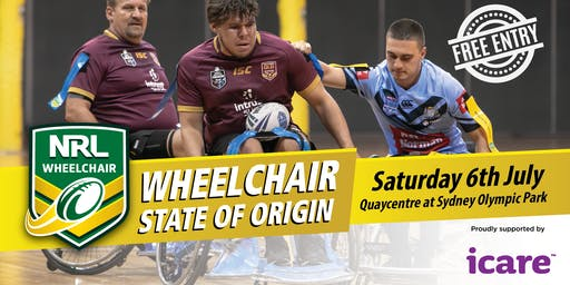 Wheelchair Rugby League State of Origin