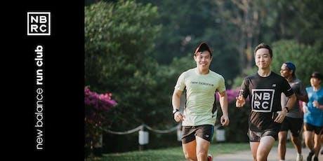 New Balance Run Club: Tuesdays @ Kallang Wave Mall (August 2019) tickets