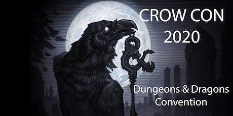 Crow Con 2020 tickets