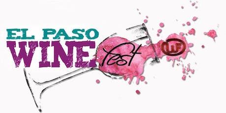 El Paso Wine Fest tickets