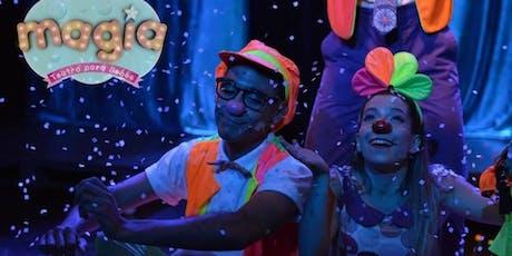 MAGIA Teatro para Bebés en OLIVOS VACACIONES de INVIERNO! entradas