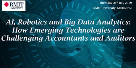 AI, Robotics and Big Data Analytics: How Emerging Technologies are Challenging Accountants and Auditors tickets
