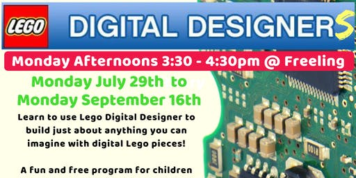 Term 3 Lego Digital Designers @ The Freeling Library