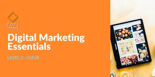 CLEVE Level 2 Digital Marketing Workshop