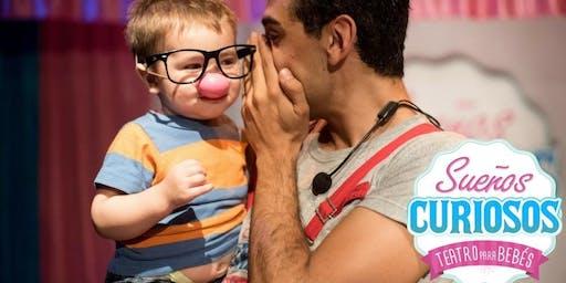 Sueños Curiosos Teatro para Bebés en Teatro Núcleo OLIVOS VACACIONES de INVIERNO!