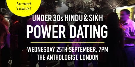 Hindu & Sikh Power Dating Social Evening - Under 30s | London tickets