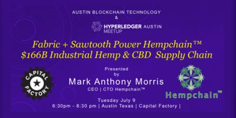 Fabric + Sawtooth Power Hempchain™ Industrial Hemp & CBD Supply Chain tickets