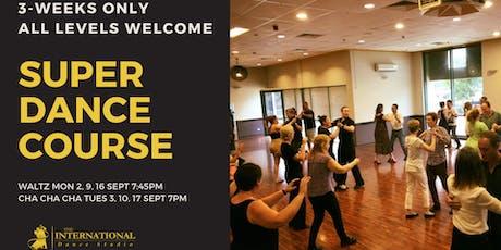 3-Week Super Dance Course: Waltz tickets