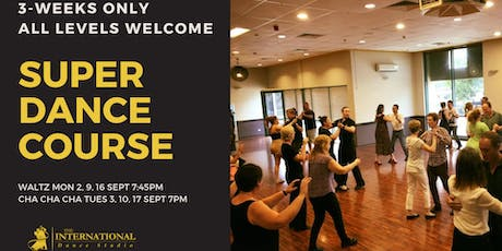 3-Week Super Dance Course: Cha Cha Cha tickets