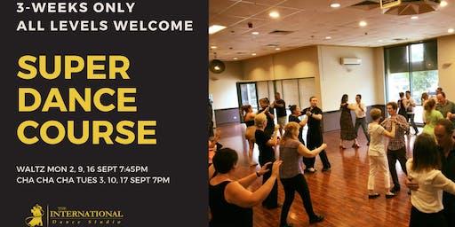 3-Week Super Dance Course: Cha Cha Cha