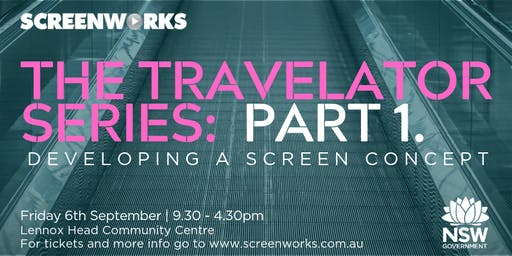 Screenworks Travelator Series Part 1 - Developing a Screen Concept