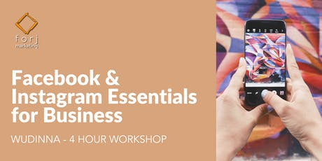 WUDINNA Workshop: Facebook & Instagram Essentials for Business tickets