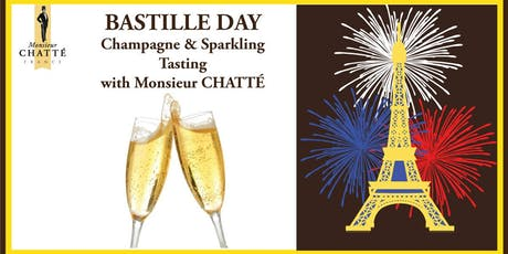 Bastille Day - Champagne & Crémant tasting with Monsieur CHATTÉ tickets
