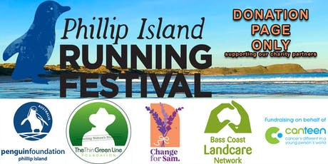 Phillip Island Running Festival CHARITY DONATION PAGE tickets