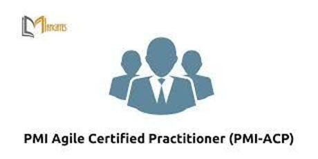 PMI-ACP® Certification 4 Days Virtual Live Training in Waterloo tickets