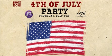 4th of July Dinner & Drinks tickets