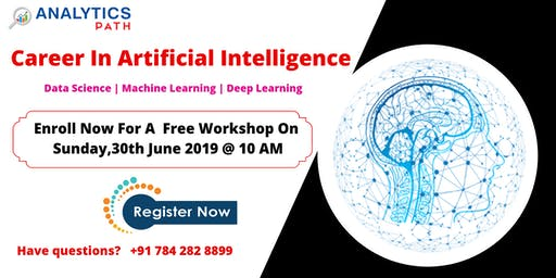 Free High Informative Artificial Intelligence workshop on Sunday, 30th June