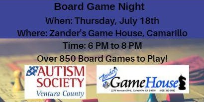 Board Game Night-Zander's Game House