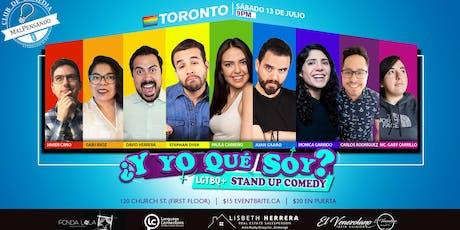Comedia Lgbtq+ En Español - ¿Y yo qué soy? - Stand Up Comedy tickets