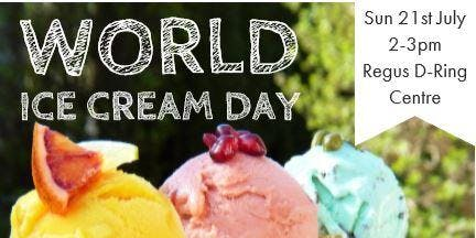 World Ice Cream Day with Regus