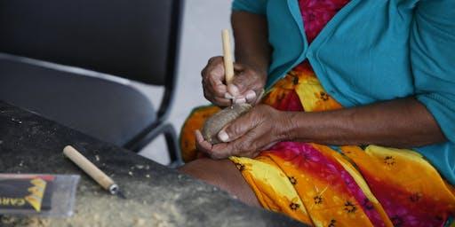 Waringarri Aboriginal Arts Boab Carving