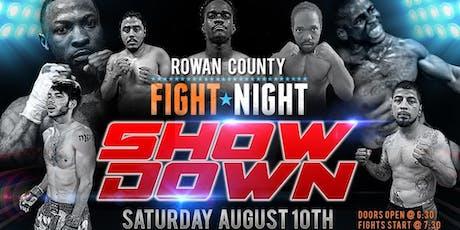 Rowan County fight night 3 tickets