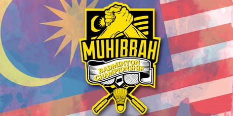 9th MBA Muhibbah Badminton Championship 2019 tickets